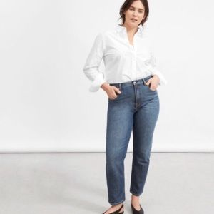 Everlane High Rise Ankle Jeans Plus Size 33